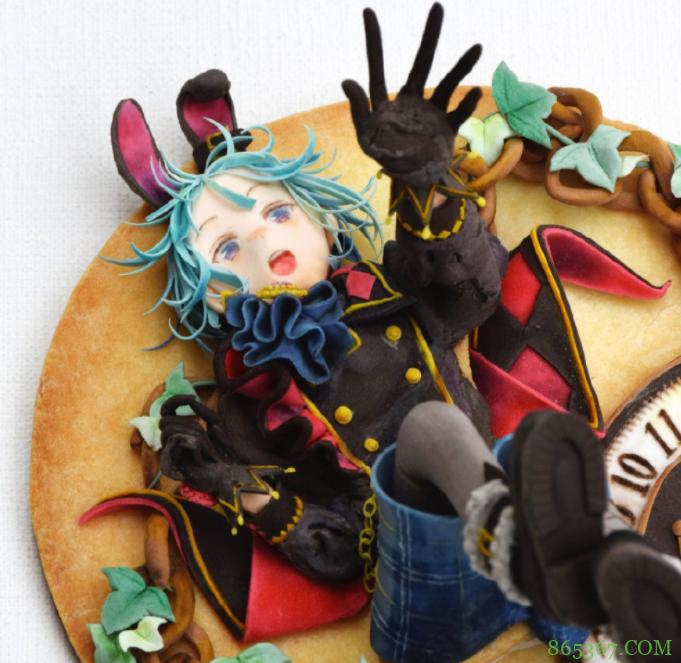 日本网友做了曲奇饼,看着比动漫手办还好看,这样的大神国内也有