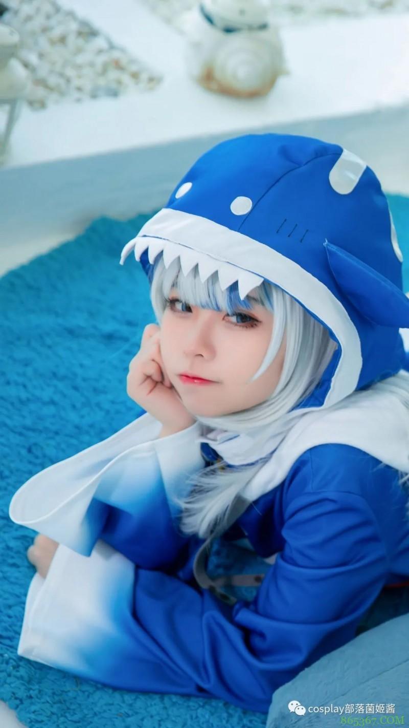 cos:一只非常可爱的鲨鱼娘@44