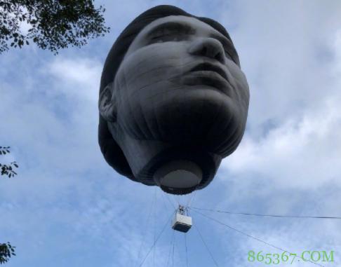 日本人放飞人头气球,看着都吓人,确定不是看了伊藤润二的漫画?